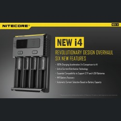 Caricabatteria Intellicharger new i4 V2 Li-ion - NITECORE