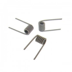 10 x Coil CLAPTON KANTHAL 0.2x0.3mm 1.0 ohm - ThunderHead