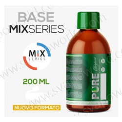 Base neutra PURE DRIP Mix Series 50/50 zero nicotina - 200 ml