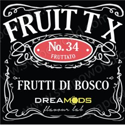 No.34 FRUIT T X aroma 10 ml - Dreamods