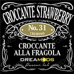 No.31 CROCCANTE STRAWBERRY aroma 10 ml - Dreamods