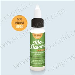 BASE neutra NATURALE 50/50 - 90ml - McFlavors