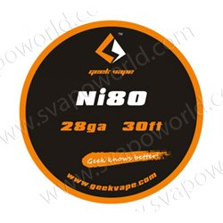 Ni80 28ga 0.32mm 10m - Geek Vape