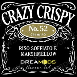 No.52 CRAZY CRISPY aroma 10 ml - Dreamods