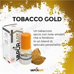 Tobacco Gold liquido pronto all'uso 10 ml - VaporArt