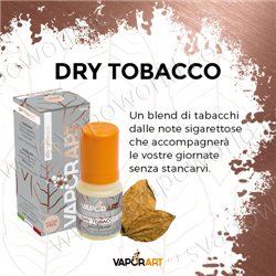 Dry Tobacco liquido pronto all'uso 10 ml - VaporArt