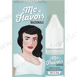 NAZIONALE liquido pronto all'uso 10 ml - McFlavors