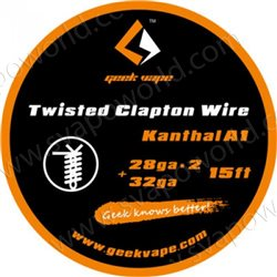 Twisted Clapton KA1 26ga*2+32ga 5m 15ft - Geek Vape