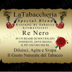 Re Nero aroma 10 ml - La Tabaccheria