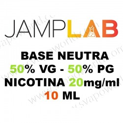Base Neutra 50/50 10ml (20mg/ml) - Jamplab